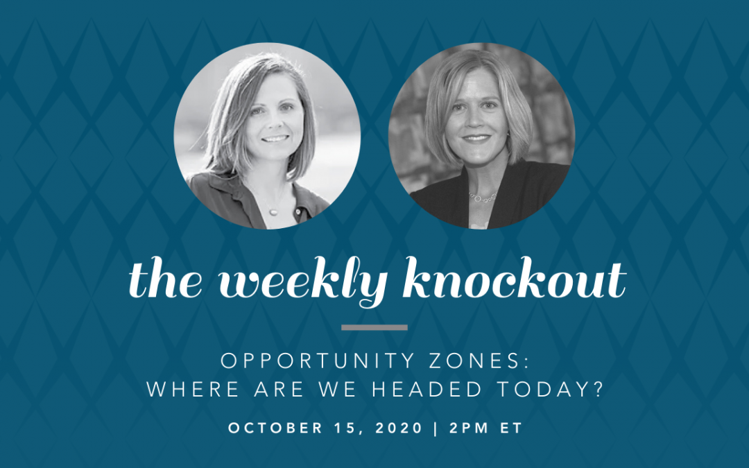 Opportunity Zones: Where Are We Headed Today?