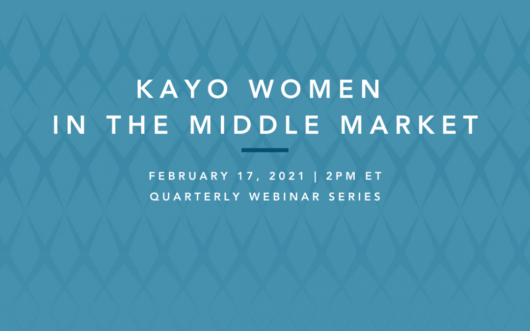 women in the middle market