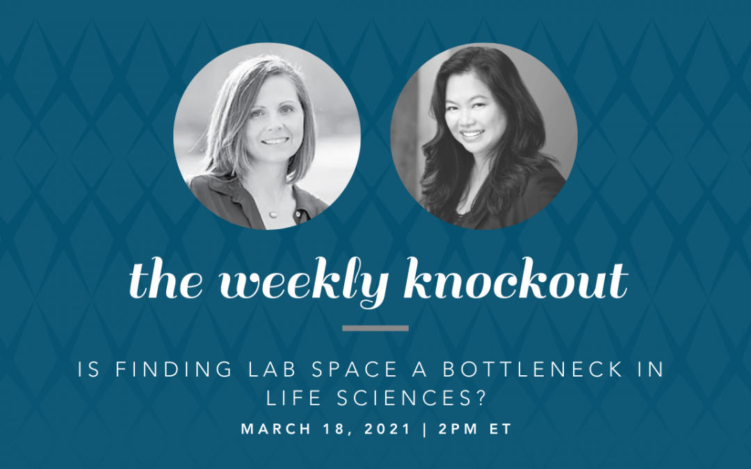 Is Finding Lab Space a Bottleneck in Life Sciences?