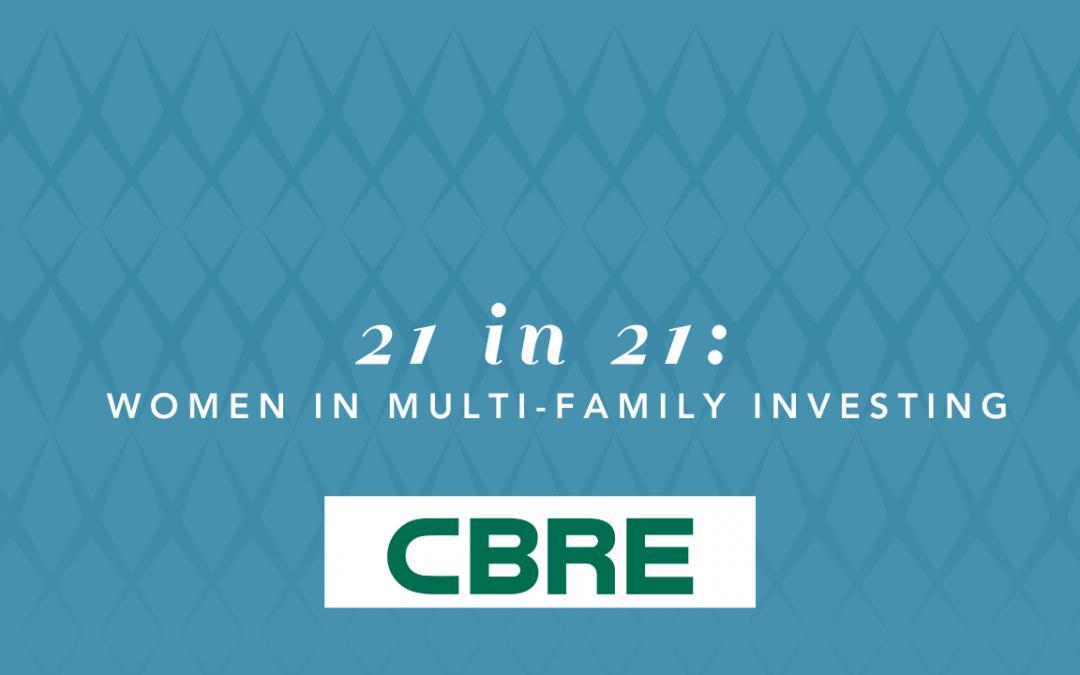 Top 21 in 21: Women in Multi-Family Investing