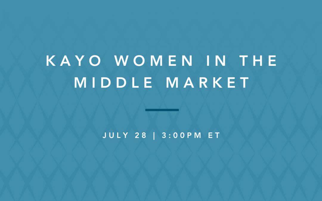 women in the middle market: healthcare spotlight