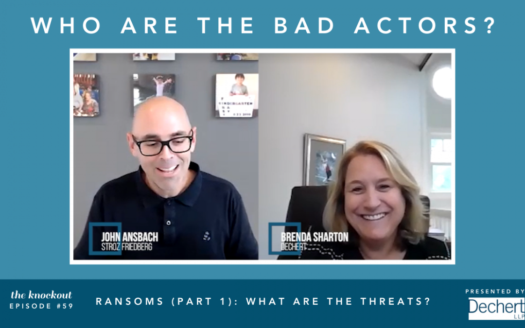 Ransoms (Part 1): What are the Threats?