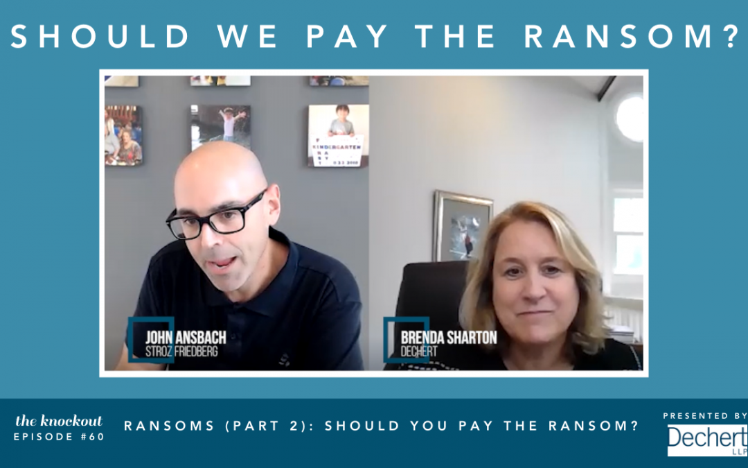 Ransoms (Part 2): Should You Pay the Ransom?